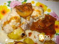 Приготовление скумбрии тушенной в соусе: шаг 6