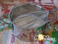 Приготовление молочных коржиков: шаг 1