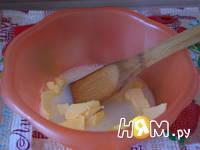 Приготовление молочных коржиков: шаг 2