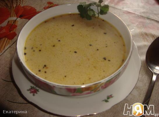 "Суп с морепродуктами по мотивам ""Том-Ям"""
