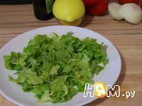 Приготовление салата Свежесть: шаг 2
