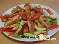 Приготовление салата Свежесть: шаг 5