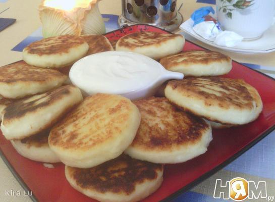 Сырники-гриль