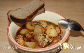 Картофельно-куриное рагу
