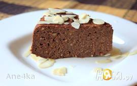 Шоколадно-нутовый пирог