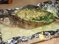 Приготовление судака запеченного в фольге: шаг 8