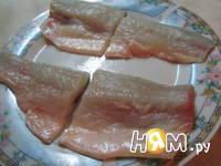 Приготовление рыбной тарелки: шаг 1