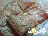 Приготовление рыбной тарелки: шаг 2