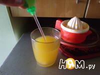 Приготовление апельсинового фреша: шаг 4