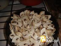 Приготовление картофельного рулета с грибами: шаг 8