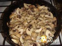 Приготовление картофельного рулета с грибами: шаг 9