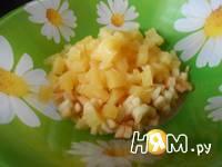 Приготовление фруктового салата: шаг 2
