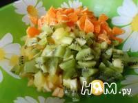 Приготовление фруктового салата: шаг 3
