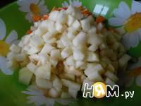 Приготовление фруктового салата: шаг 4