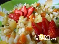 Приготовление фруктового салата: шаг 5