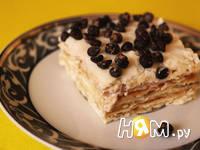 Приготовление торта из мацы: шаг 11