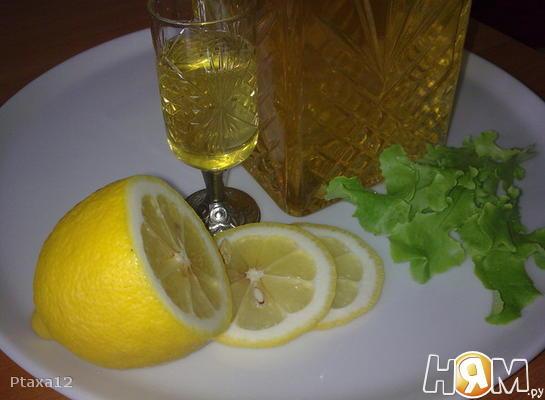 Рецепт Ликер лимонный Лимончелло