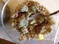 Приготовление свекольного салата с орехами: шаг 4
