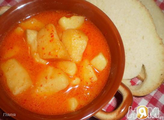 Картофель с паприкой