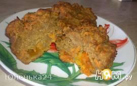 """кексы с морковью """"Постные"""""""