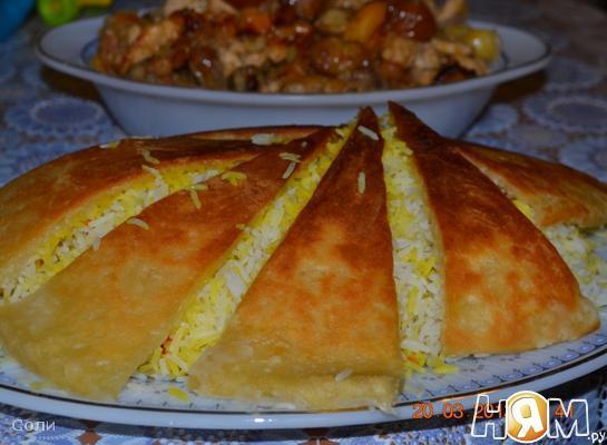 Рецепт Настоящий Азербайджанский плов