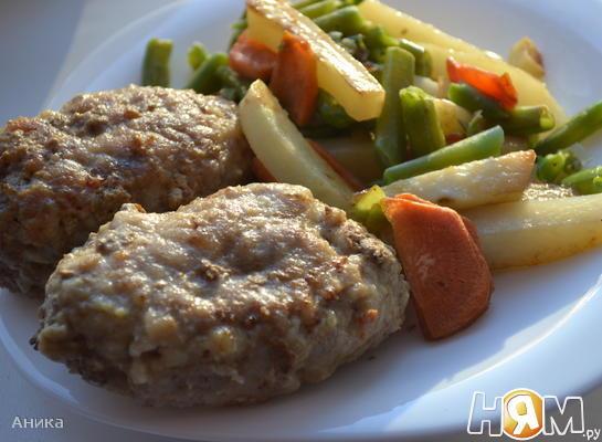 Рецепт Зразы с сыром и маслинами