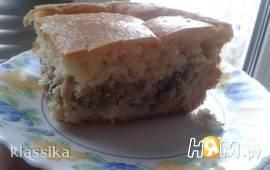 """Рыбный пирог """"По деревенски"""""""