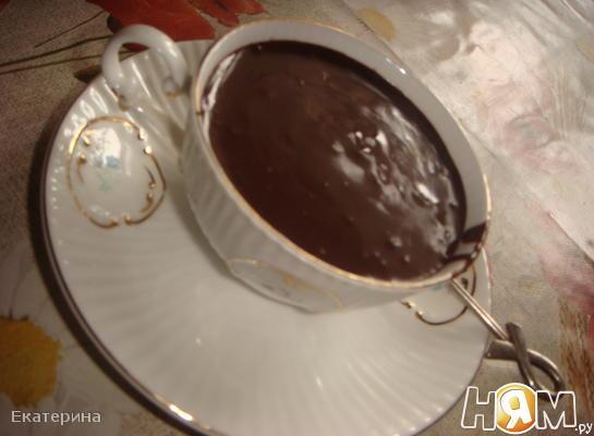 Горячий шоколад с куантро