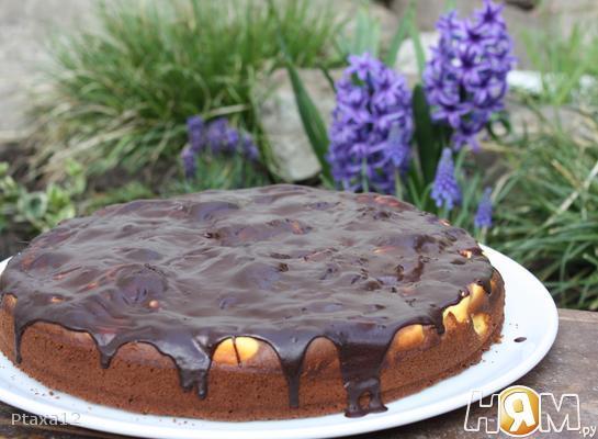 Рецепт Сырник в шоколадном тесте