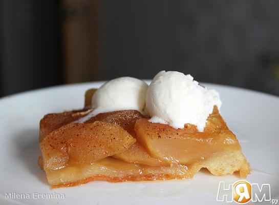 Яблочно-грушевый тарт