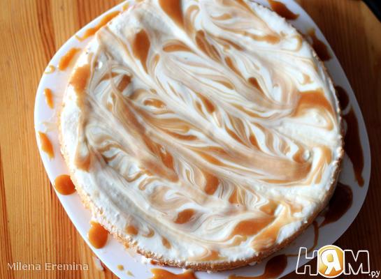 Карамельно-сметанный торт