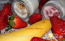Йогурт фруктовый домашний в йогуртнице
