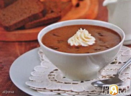 Эстонский хлебный суп