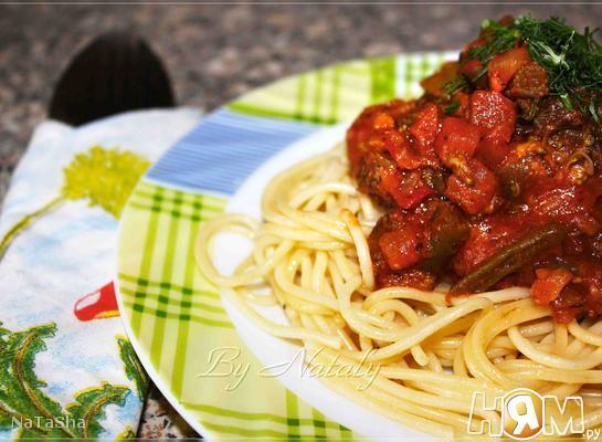 Спагетти по-вегетариански