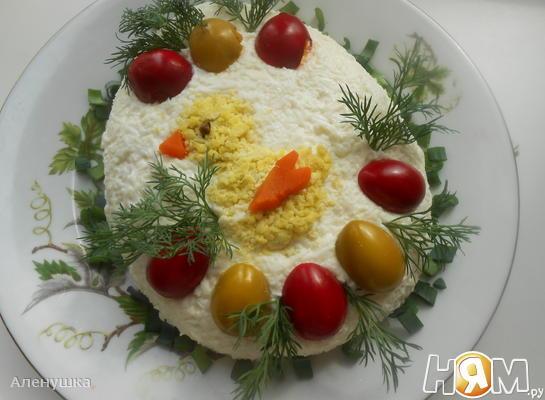"""Салат """" Пасхальное чудо """""""