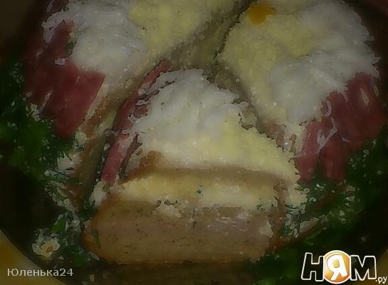 """Бутербродный торт """"Загляденье"""""""