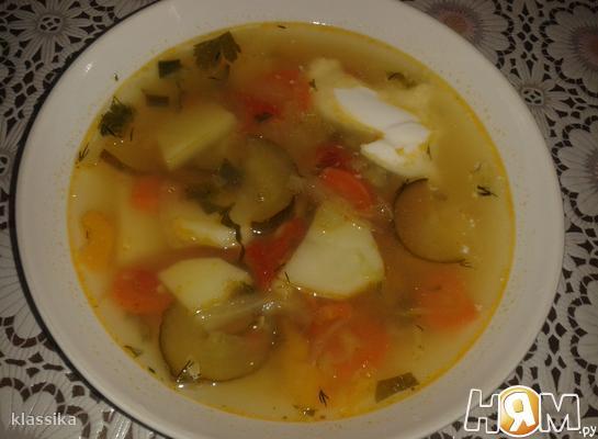 """Овощной суп """"Семь в одном"""""""