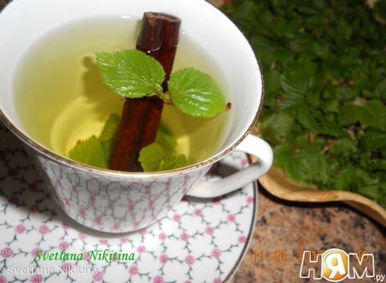 Чай с березовыми листочками