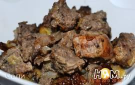 Мясо запеченное с киви