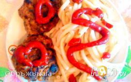Ароматные котлеты из дичи (мяса кабана)
