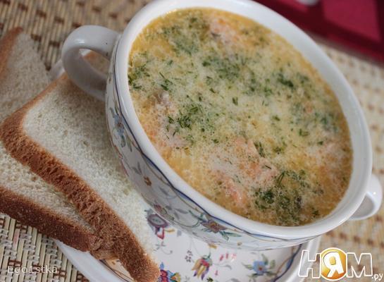 Суп из семги (Lohikeitto)