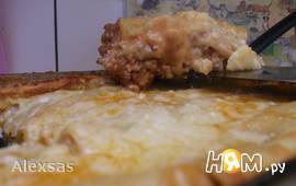 Lasagne с сырным соусом