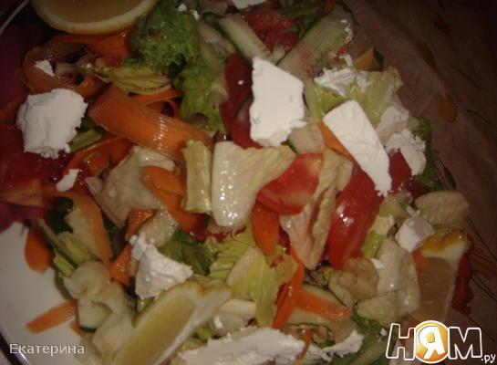 Турецкий зеленый салат