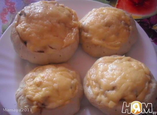 Рецепт Патиссоны, фаршированные мясом и грибами