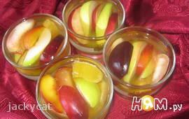 Желе с фруктами