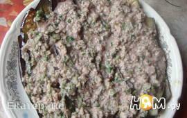 Баклажаны с пикантным соусом