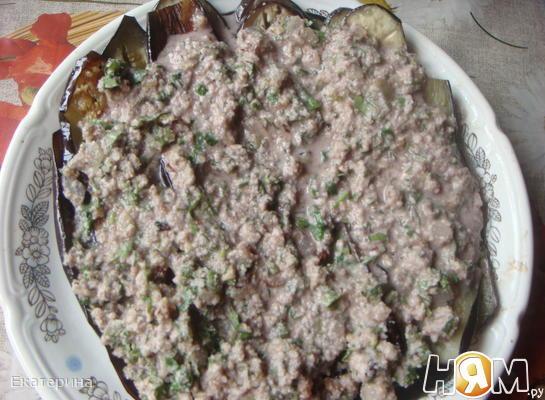 Рецепт Баклажаны с пикантным соусом