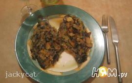 Рыба в сливочном масле с вином и чесноком