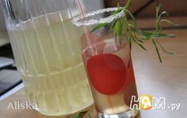 Лимонад с тархуном и мелисой