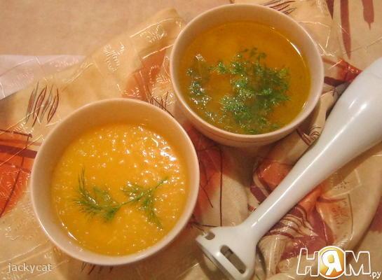 Рецепт Оранжевый суп